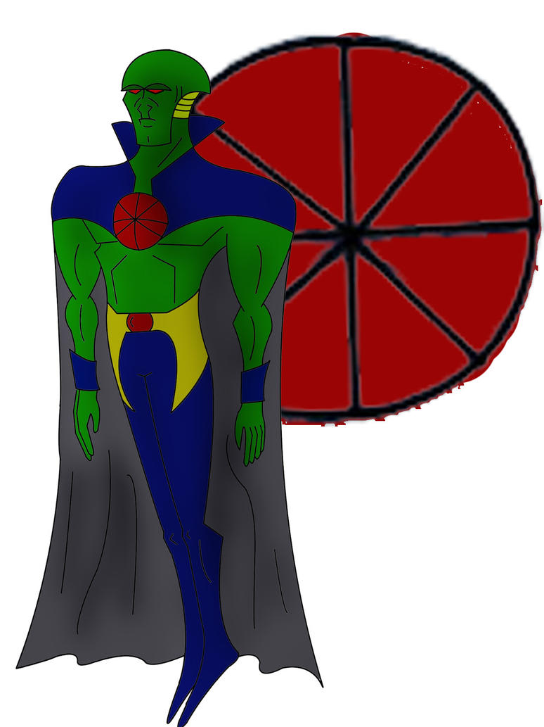 martian manhunter by el5toenviado