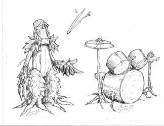 drummer roots by claudio-bolpas