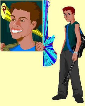 Eddie -serie paintbrush-