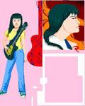 Paula -serie paintbrush-