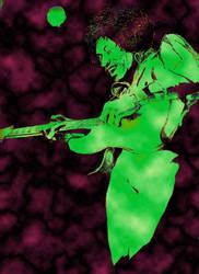 Hendrix by claudio-bolpas
