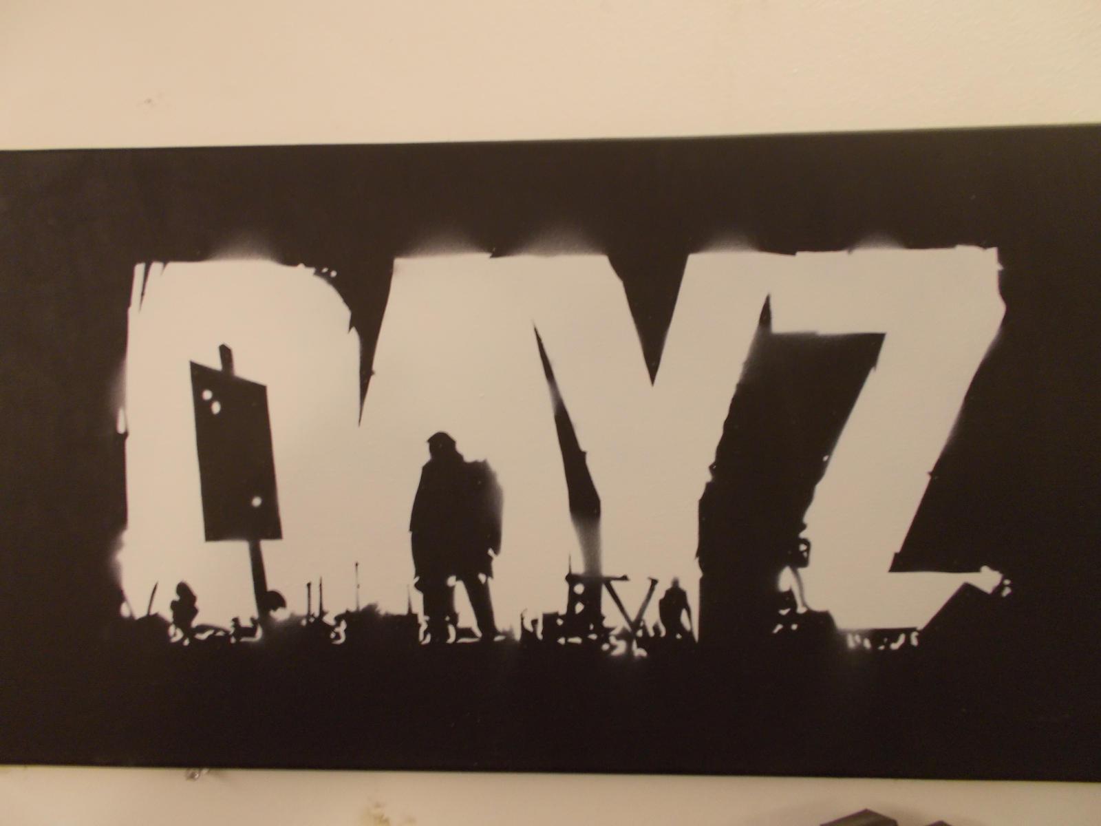 DAYZ Stencil by zertzes