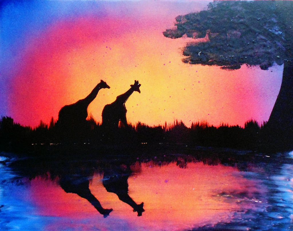 Spray Paint Art 38 By Eac518 On Deviantart