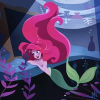 Ariel's dinglehopper by WishAndDream