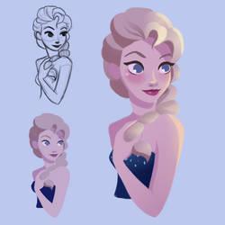 Concept Art - Elsa