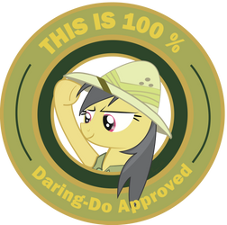 Daring-Do Approved (Original Colors) by Penguin-616