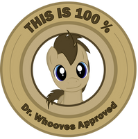 Dr. Whooves Approves by Penguin-616