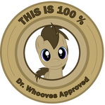 Dr. Whooves Approves