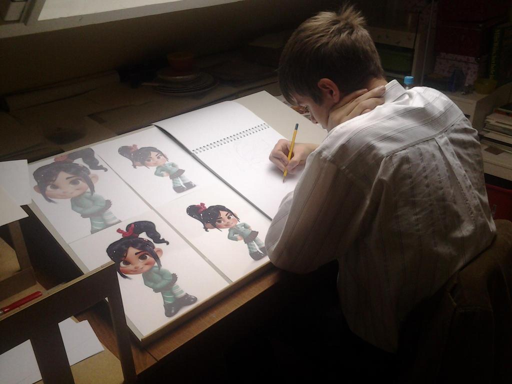 Working on Fanart by Franszzz