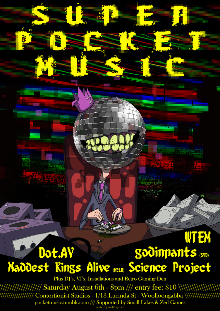Super Pocket Music by trofdugweed