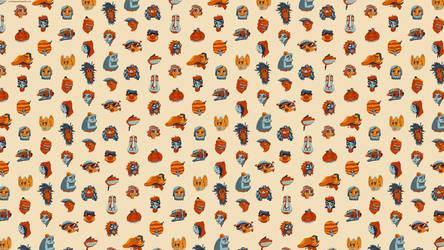 Brisbane Faces - Wallpaper