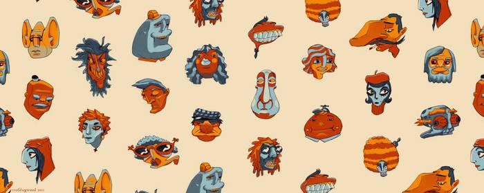 Brisbane Faces - Detail