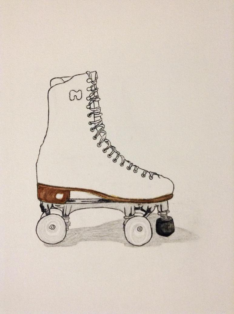 Roller Skates Drawing Roller