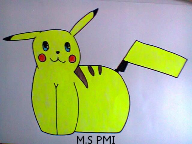 Pikachu by Terinae