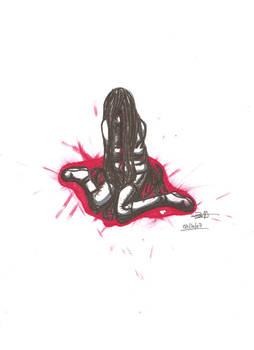 blood tears, little heart