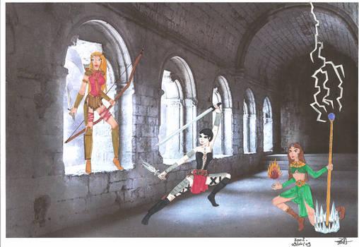 Diablo female characters
