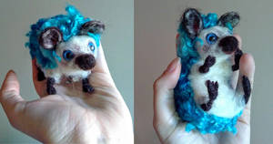 Hedgepig: A study in blue by devinecrafts