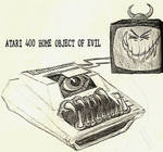 Atari 400 Object of Evil