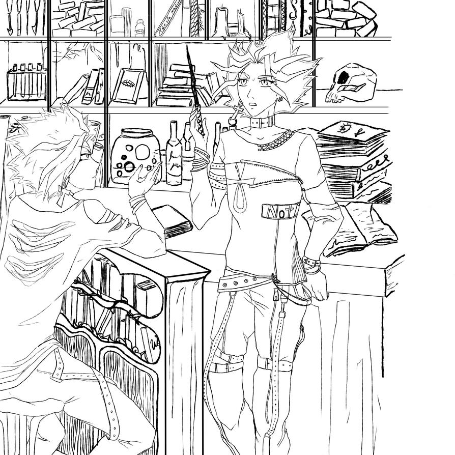 ygohp wip by angelgirl132art