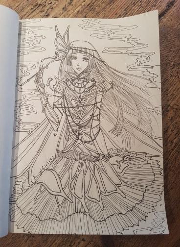 Yuuko Doodle by angelgirl132art