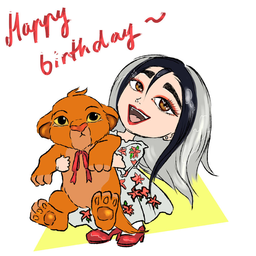 Birthday gift by angelgirl132art