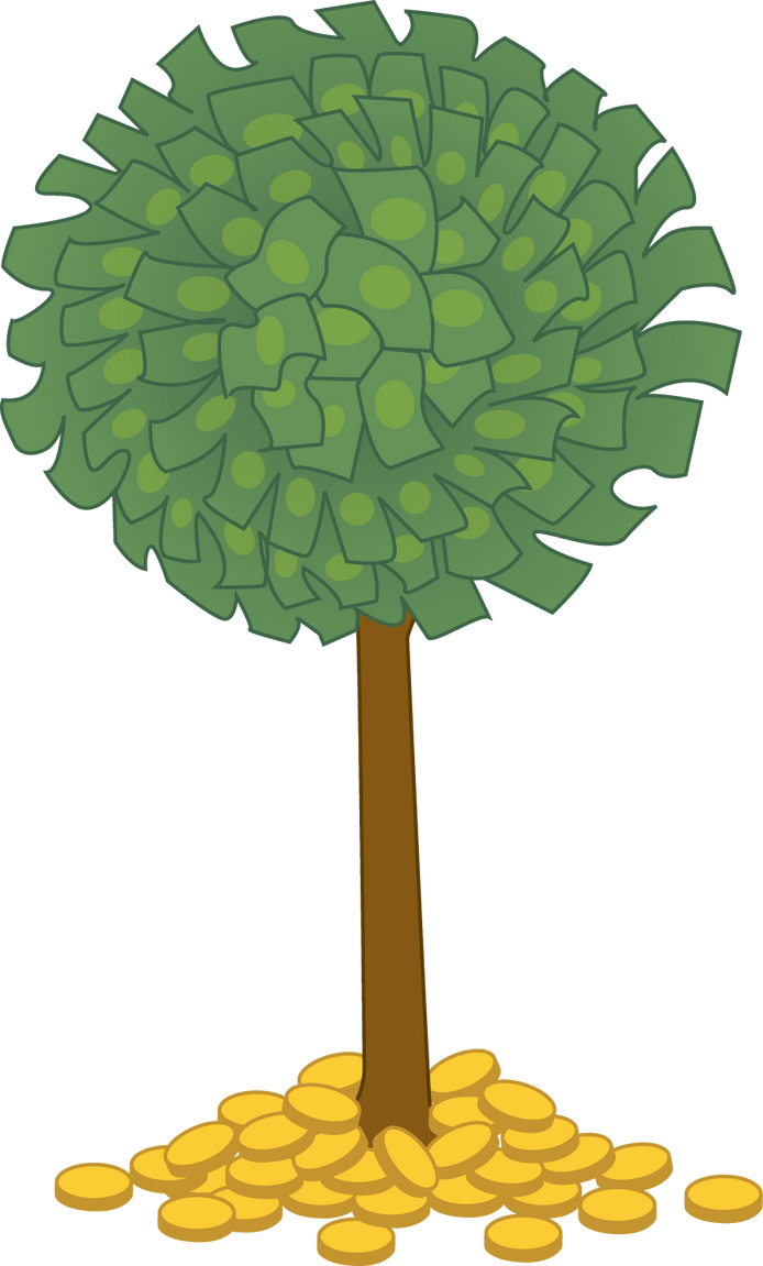 money tree by colormist on deviantart rh deviantart com