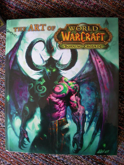 WOW artbook by Jumplove123