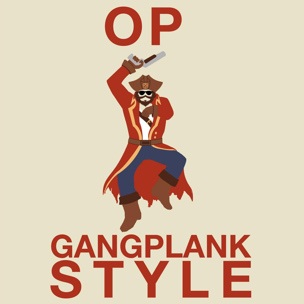 OP Gangplank Style by onigiridango181 on DeviantArt