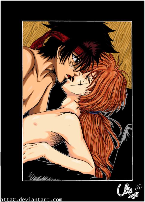 Yaoi - Sanosuke x Kenshin by attaC