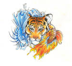 Elemental Pisces and Tiger