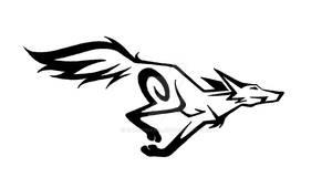 Tribal Running Fox 2
