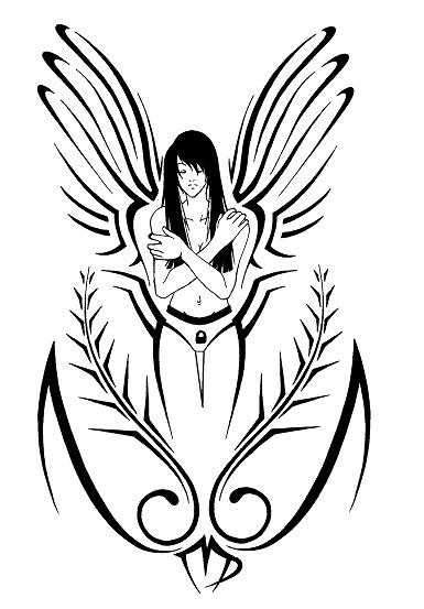 Tribal virgo by shadowkira on deviantart for Virgo tribal tattoo