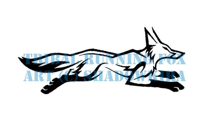 Running Fox Tattoo Ima...
