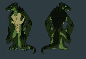 Hydrophobia 1: Snapping Turtle by ShadowKira