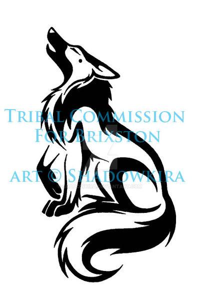 Tribal Howling Brixston COM by ShadowKira