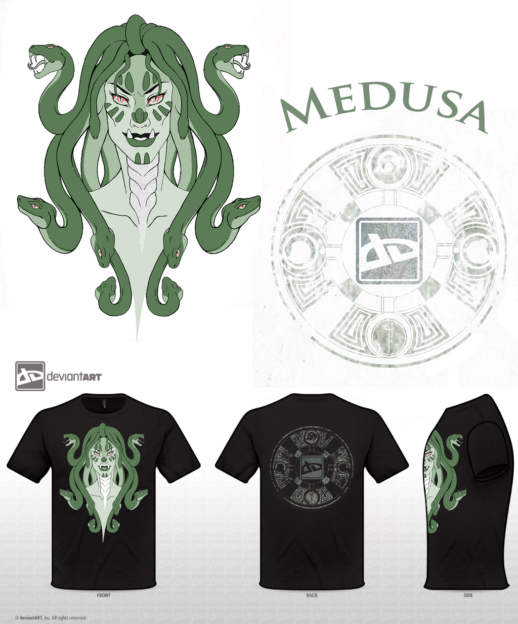 Medusa MC Entry by ShadowKira