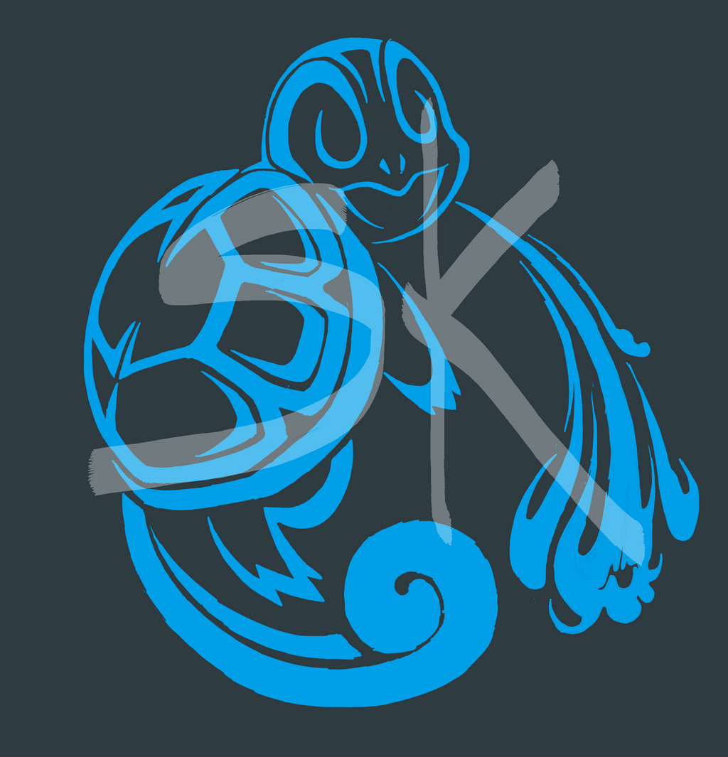 Tribal Squirtle 2 by ShadowKira on DeviantArt