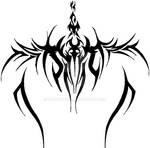 Tribal Spine Tattoo Design