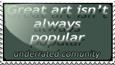 Underrated Artist - Stamp