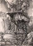 treehouse sketch by NightmareGK13