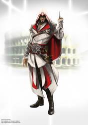 AC:B Ezio Auditore da Firenze by NightmareGK13