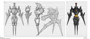 Creature concept 001