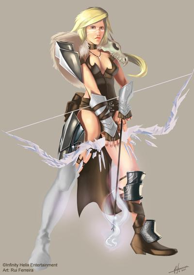 Sorry, Fantasy female archer the