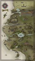 Kingdom of Amaldan Map