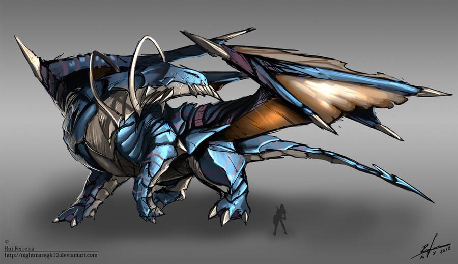 Creature concept 006 by NightmareGK13