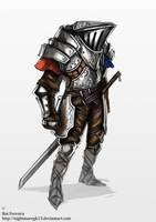 knight concept by NightmareGK13