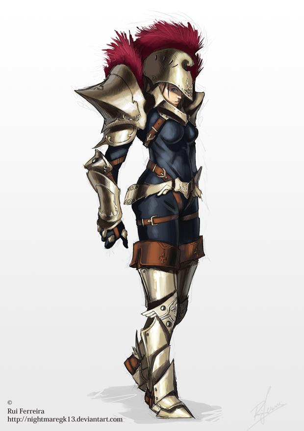 Senis character concept by NightmareGK13