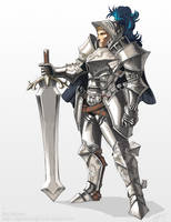Arvante character concept by NightmareGK13