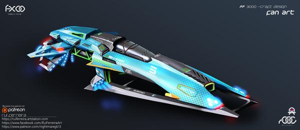 Formula Fusion Ship Concept by NightmareGK13