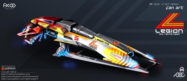 Legion A.G. Racing Team colour scheme by NightmareGK13